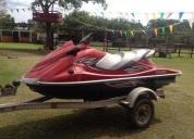 moto de agua yamaha en excelentes condiciones