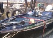 Por urgencia vendo lancha deportiva y pesca cajun 120hp