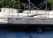 Catamaran sun tracker party barge 21 aproveche hoy