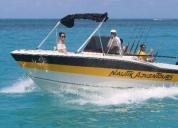Embarcacion de pesca 24 pies consulte sin compromiso