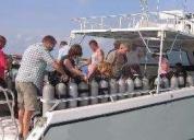Oportunidad! embarcacionn de buceo santa maria 45 flybrige