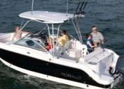 pesca deportiva robalo 247 totalmente equipado y en buen estado