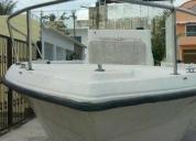 Venta de casco de lancha con trailer