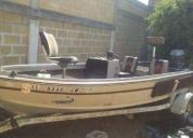 Venta de lancha para pesca en buen estado