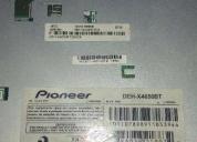 Modulo pioneer deh x4650bt bluetooth escucho ofertas razonables