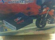 Excelente bocinas amplificadas para moto con alarma