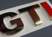 Oportunidad! emblemas.originales/edicion especial nuevos.vw gti