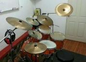 Excelente clases profesionales de batería en gdl