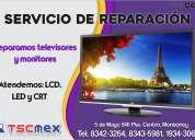 Servicio a televisores y monitores