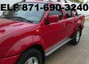 En venta 8 camionetas nissan frontier 4x4 full equipo