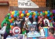Show infantil de super heroes,avengers,liga de la justicia,vengadores,shows para niños