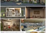 Renders, planos (permisos, arquitectónicos), diseño entre otros para su negocio.