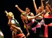 Clases danza jóvenes y adultos, sábados, sur, mb