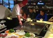 Restaurante japones solicita personal ambos sexos para diversos puestos