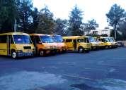 Vacante de chofer de transporte escolar y personal