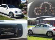 Beetle de lujo, modelo 2013 color blanco, estandar