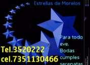 Mariachi estrellas de morelos tel.3520222*cel.7351130466