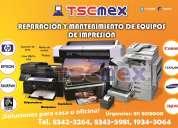 Reparaciones y mantenimiento a impresoras monterrey