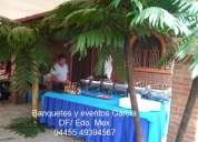 Buffet de mariscos d.f. banquetes a domicilio