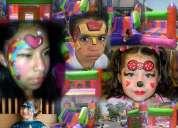 Servicio de renta de inflable,shows infantiles,payasos,magos,pintacaritas