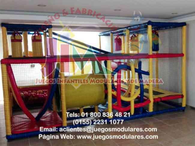 Los mejores Juegos Infantiles fabricados especialmente para salones de fiestas, estimulación y más