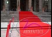 Venta y renta de alfombra roja