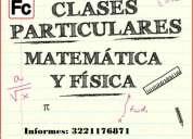 clases particulares de matemáticas, preparación para examen extraordinario, admisiÓn, regularizac