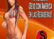 Jueves 9 en csw: ¡sexo con américa en las regaderas!