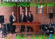 Marimba fiestas y eventos al 5511291032