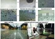Pisos de concreto pulido en fresco