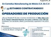 Operadores de produccion