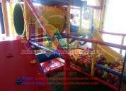 Juegos infantiles, juegos modulares, juegos de estimulación temprana, laberintos y más somos fabri