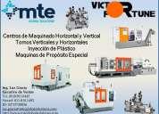 Victor fortune, centros de maquinado, tornos, inyección de plástico, maquinas de propósito especi