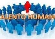 auxiliar de  recursos humanos medio tiempo