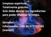 Limpia espiritual gratuita