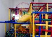 Juego infantil para centros de entretenimiento, salón de fiestas, juegos infantiles modulares y má