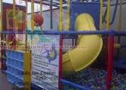 Somos fabricantes de juegos infantiles y modulares, especiales para salones de fiestas-franquicias,