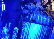 Barra de cocteleria y bebidas