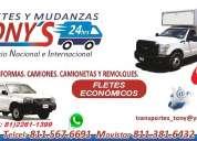 Transportes en camiones de 6 mts