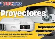 Reparaciones de proyectores dlp y 3lcd