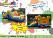 Renta de inflables - promocion