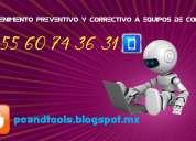 Mantenimiento preventivo y correctivo a computadoras 92