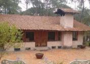 Se vende lindas cabaña en mazamitla