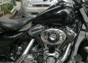 Excelente harley davidson road king aceptó moto
