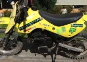 Excelente moto suzuki cross enduro 80cc -2001