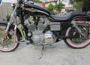 Harley davidson pink sportster 883cc .aprovecha ya!