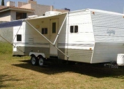 casa rodante travel trailer skyline layton. consultar!