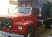 Excelente f600, camión rabón, caja de redilas -81
