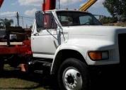 Excelente camion grua articulada hiab -1998