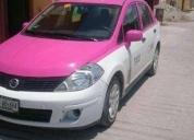 Excelente taxi tiida drive como nuevo